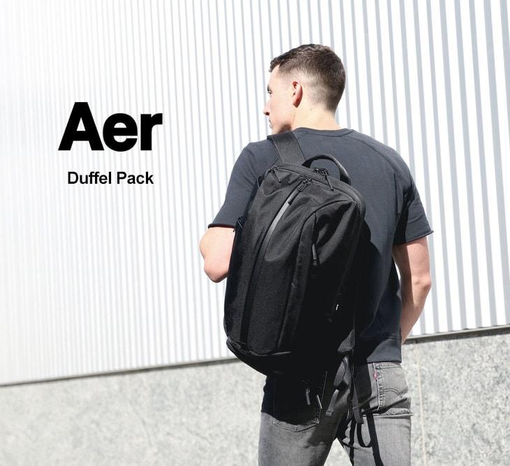 aad1bbd0588b ... AER(エアー) ダッフルパック 2 / バックパック / デイパック / リュック / ジム ...