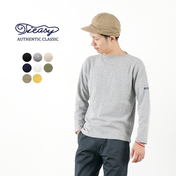TIEASY(ティージー) HDCS オーガニック ボートネック バスクシャツ