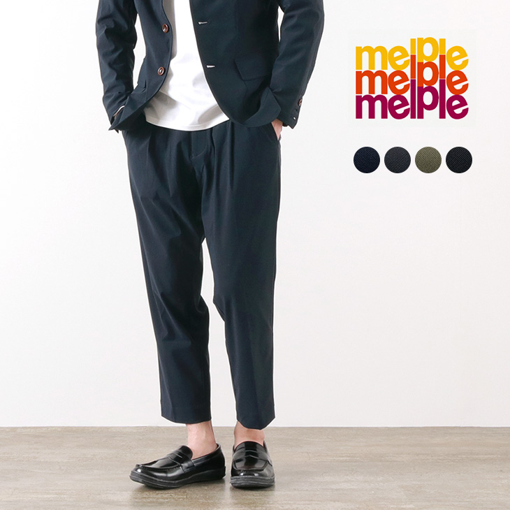 MELPLE(メイプル) トムキャット ワンタック リラックス パンツ