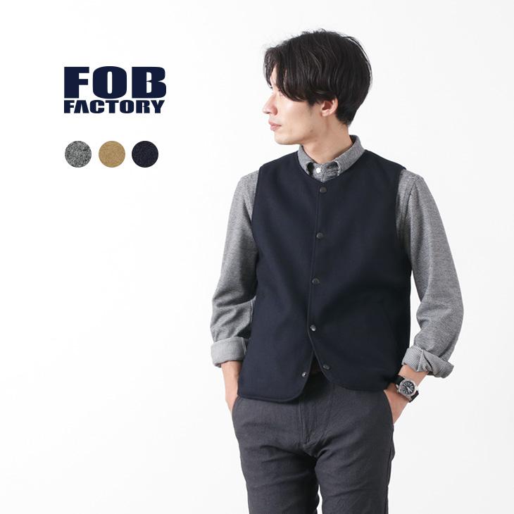 FOB FACTORY(FOBファクトリー) F2389 リバーシブルライナー ベスト