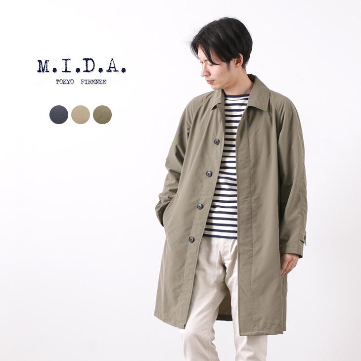 M.I.D.A.(ミダ) ウェラー ステンカラーコート